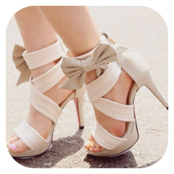 92f17cdd205 shoes hipster love white heels white heels cute sexy amazing bow hipster  gorgeous