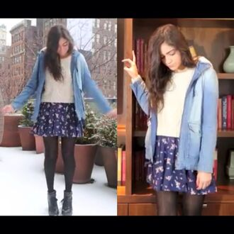 jacket denim flannel bethany mota shearling denim jacket