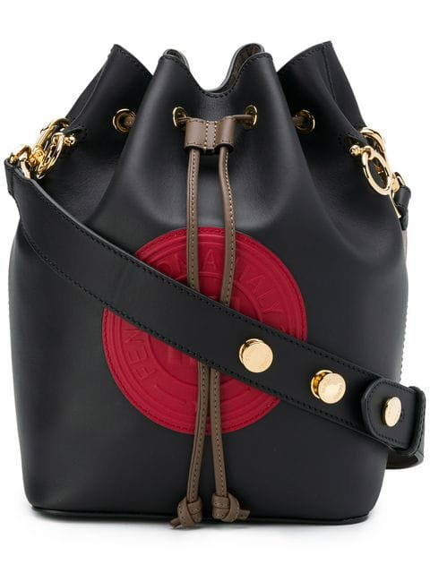 Fendi black, Red And Brown Mon Tresor Bucket Bag - Farfetch
