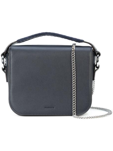 All Saints women bag crossbody bag leather black