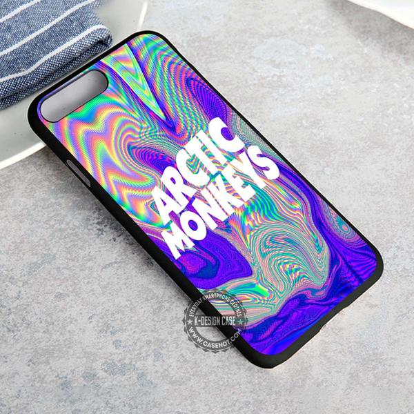 Psychedelic Logo Arctic Monkeys iPhone X 8 7 Plus 6s Cases Samsung Galaxy S8 Plus S7 edge NOTE 8 Covers #iphoneX #SamsungS8
