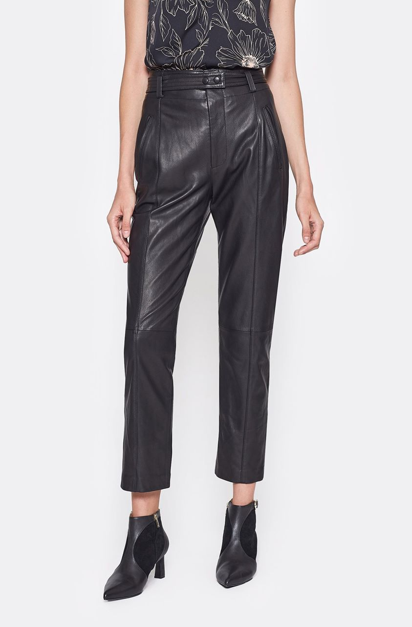 Trula Leather Pants