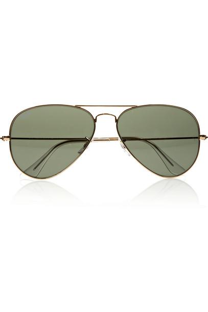 Ray-Ban sunglasses gold