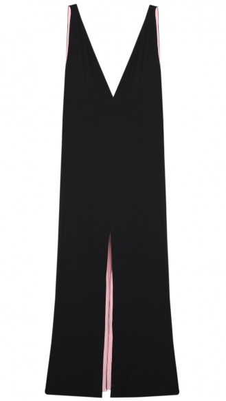 LONG DRESS PURE CADY Colour:BLACK / DESIGNERS / JO NO FUI :: Soho Soho
