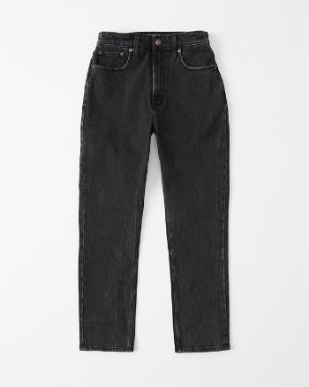 Womens Curve Love High Rise Mom Jeans from Abercrombie & Fitch