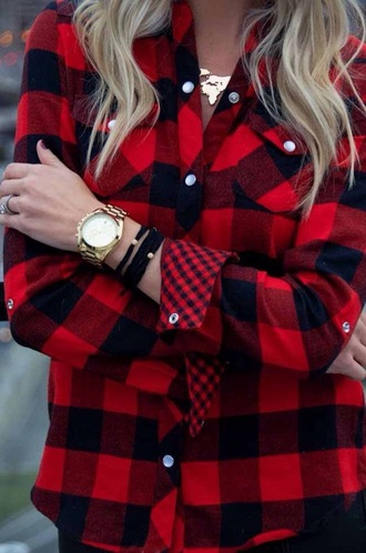 flannel button up long sleeves