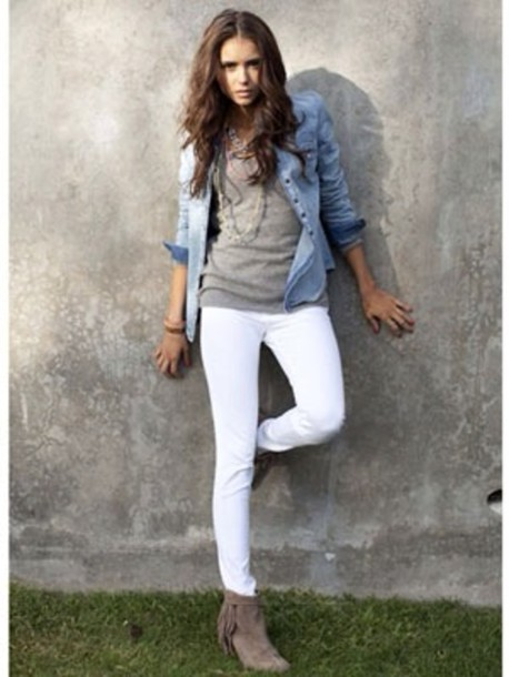 White jeans denim jacket – Your jacket photo blog