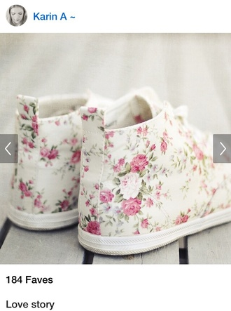 shoes sneakers pastel floral shoes pastel sneakers