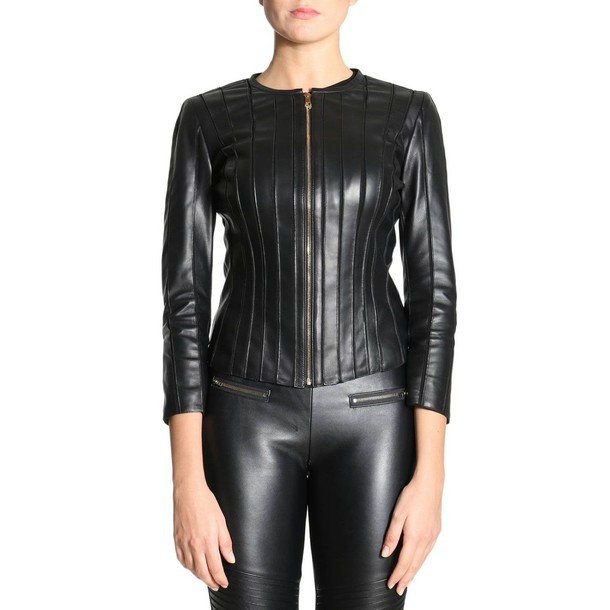 Versace Collection blazer women black jacket