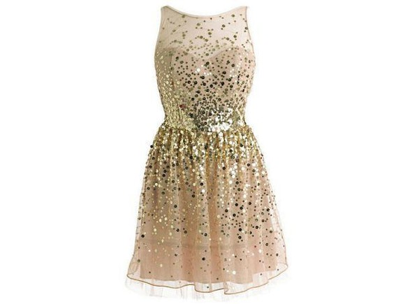 dress gold short prom sparkle sequin dress, gold, sparkles, glitter, sleeveless mesh shimmer shine gold sequins