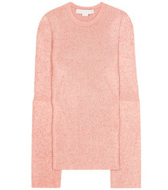 Stella McCartney sweater knitted sweater wool red