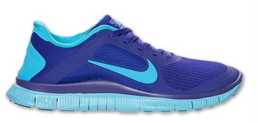 New Nike Free 4 0 V3 Neutral Womens Running Shoes Sneakers All Sizes Purple Blue | eBay
