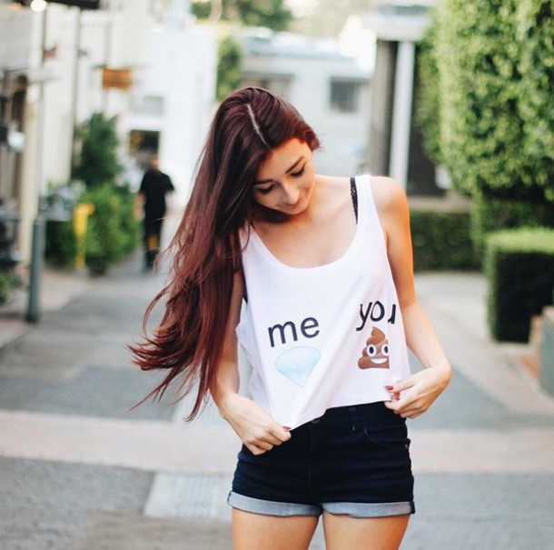 shirt drol tank top t-shirt tanktop monalisa style cute shirt