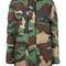 Moschino - padded camouflage jacket - women - polyamide/spandex/elastane/viscose/virgin wool - 38, green, polyamide/spandex/elastane/viscose/virgin wool