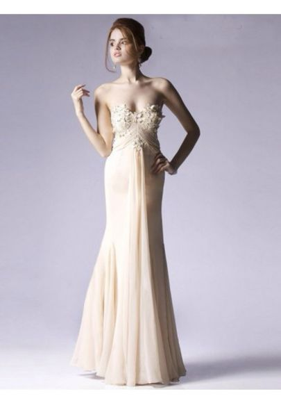 dress ivory dress formal dresses prom dress long prom dresses cream dress mermaid prom dresses flowers floral mermaid/trumpet mermaid trumpet cute summer homecoming dresses sweetheart dresses