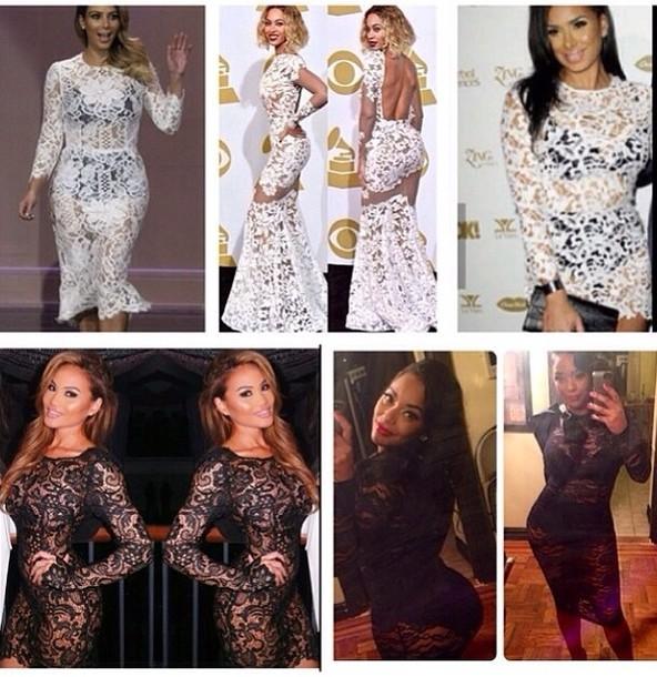 Beyonce Grammy Dress 2014