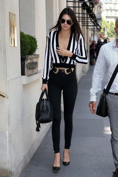 Top Kendall Jenner Crop Tops Celebrity Celebrity Style