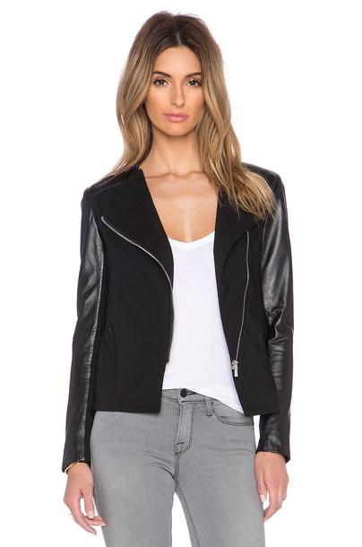 LaMarque jacket leather jacket leather black