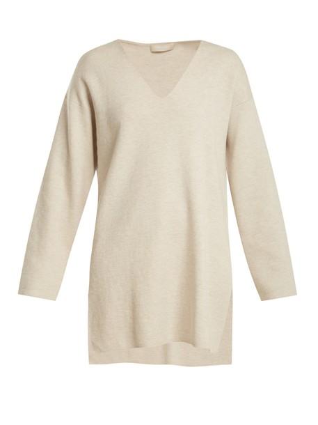 S MAX MARA sweater light grey
