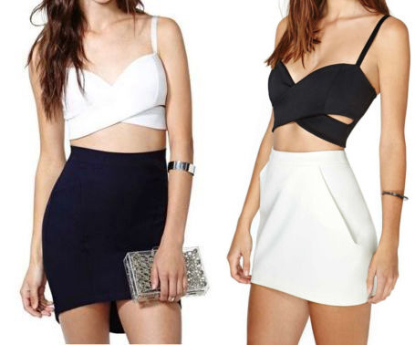 Criss Cross Crop Tops IV : Glamorous and Fabulous