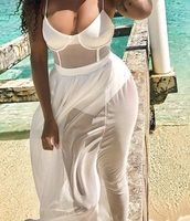 swimwear,bathing suit dresss,white swimwear