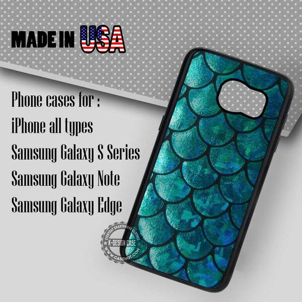 Samsung S7 Case - Tail Texture Ocean - iPhone Case #SamsungS7Case #thelittlemermaid #yn