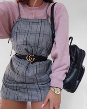 dress,stripes,black,white,grey,plaid,strappy