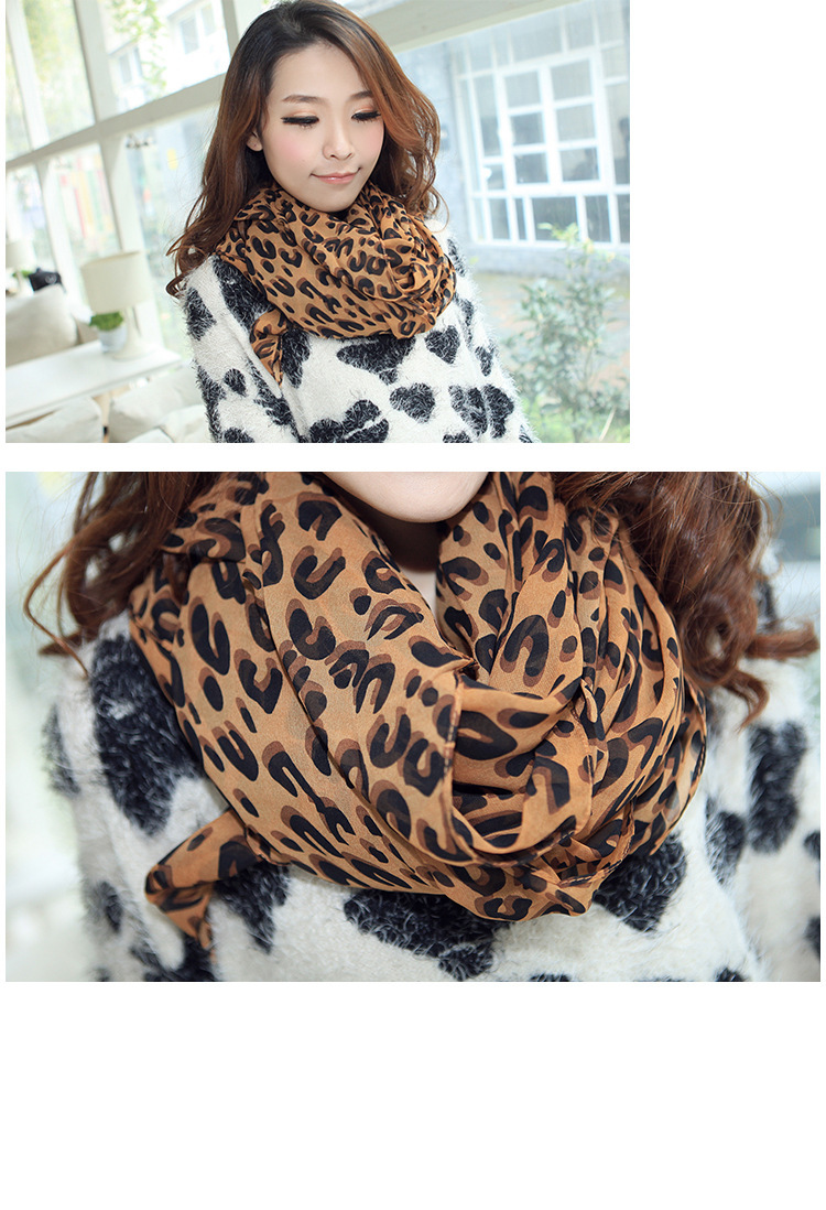 Cheap discount 2014 brand new women scarf winter ice silk cotton scarves print  Leopard free shipping 160*70CM-in Scarves from Apparel & Accessories on Aliexpress.com