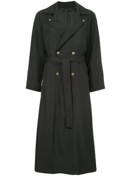 Cityshop - oversized trench coat - women - Polyester - 36, Black, Polyester