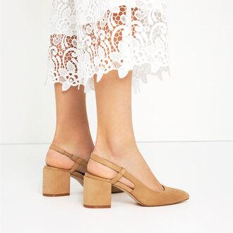 shoes thick heel nude heels mid heel sandals