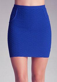 bebe | Midi Stripe Skirt - Bottoms - Skirts