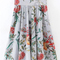 Falda plisada con cinturilla ancha línea a -spanish shein(sheinside)