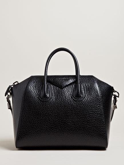 Givenchy women's calf leather medium antigona bag