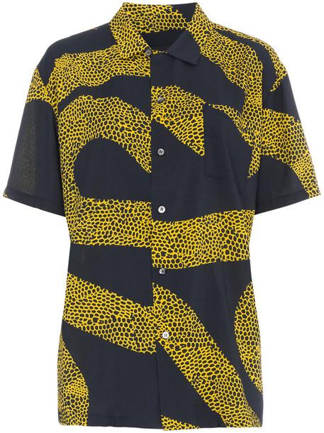 Double Rainbouu shirt women animal print black animal print top