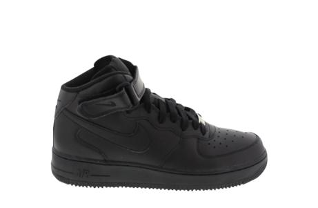 De NIke Air Force Mid '07 Black maat 35-40 - Bestel ze op Sneakers.nl