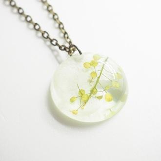 jewels summer summer handcraft necklace handmade flowers floral cute real flowers handmade necklace bestfriend necklace floral jewelry