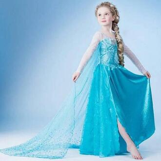 dress frozen cosplay female cosplay costumes children gifts