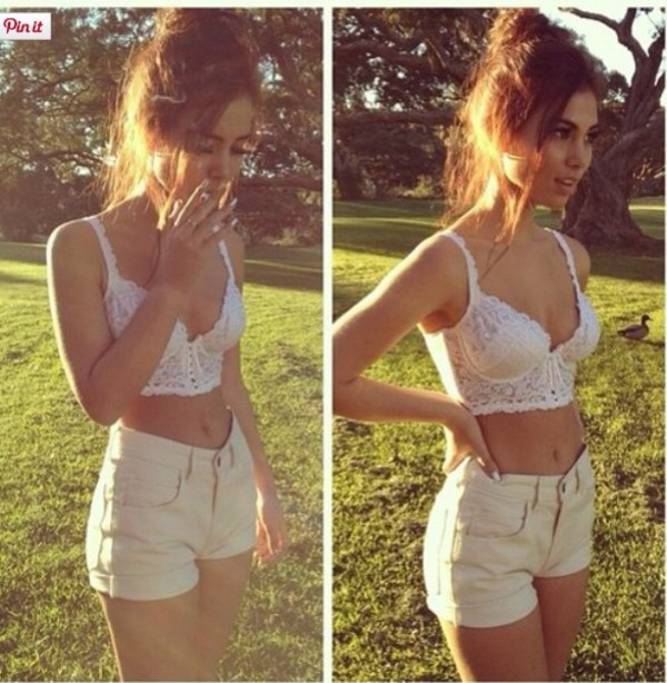 top white crop tops