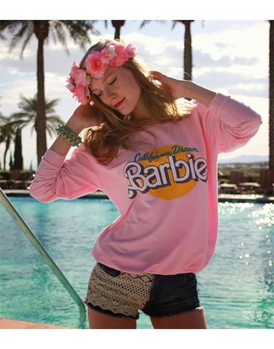 California dream barbie sweater
