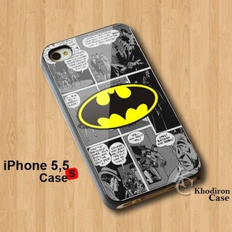 phone cover iphone5 case marvel batman