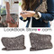 Women metallic all over gold black sequins high shine bling clutch handbag purse | ebay