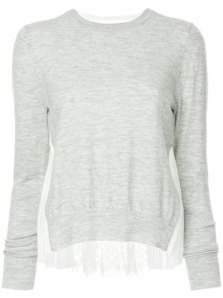 Onefifteen top women lace grey
