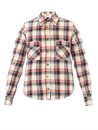 Ugo flannel check shirt | Isabel Marant Étoile | MATCHESFASHIO...
