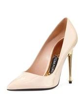 shoes,high heels,tom ford,high heel pumps,pumps,pink heels