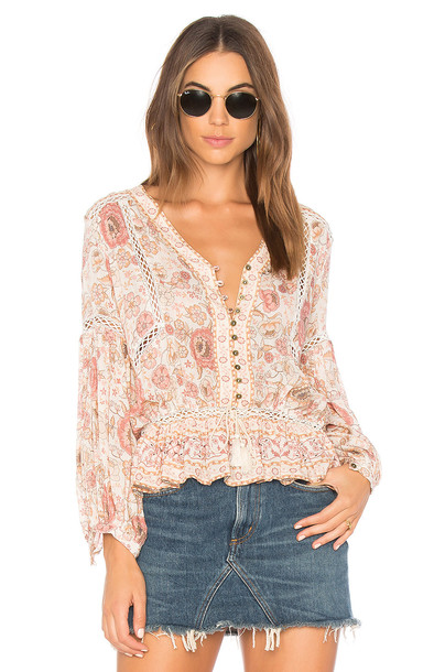 Spell & The Gypsy Collective blouse pink top
