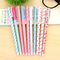 Aliexpress.com : buy 10pcs cartoon floral color gel pen kawaii stationry cute pens for writing school supplies papelaria from reliable pen correction suppliers on la vie co.,ltd. | alibaba group