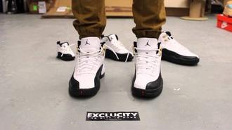 shoes white black nike jordan 23 retro 12 swag mens menswear air jodan nike air style fashion