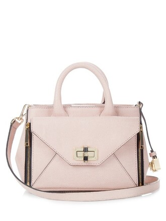 cross mini bag light pink light pink