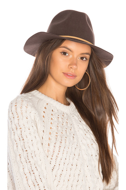 Brixton fedora brown hat