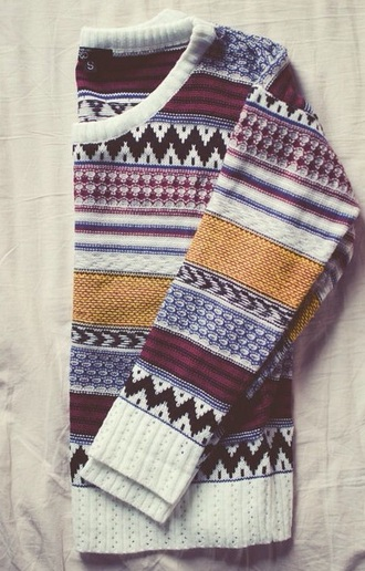 yellow blue black sweater burgundy winter sweater